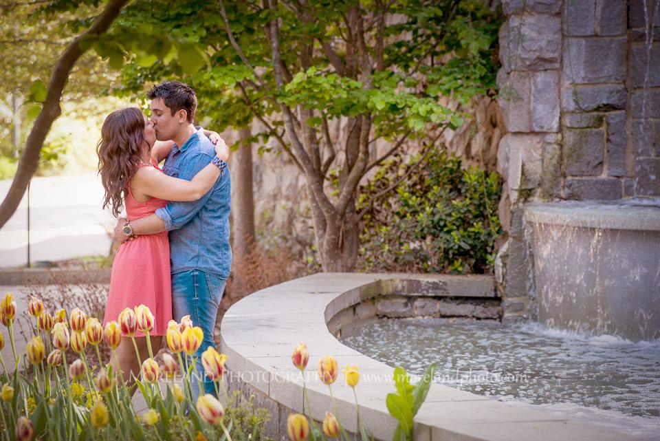 Atlanta Botanical Gardens Engagement Kelly Carlos